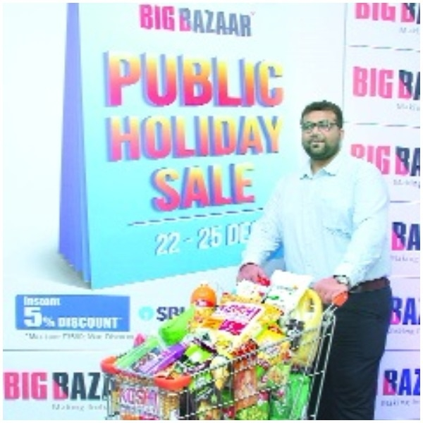 Big Baazar's Public Holiday Sale from 22nd