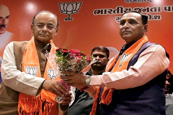 Rupani, Patel to continue as Guj CM, Dy CM