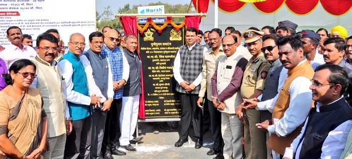 Chief Minister performs bhoomipujan for India's first Smart Police Station