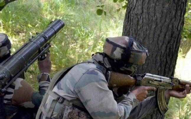 Pak sniper gunned down by Army in retaliatory attack