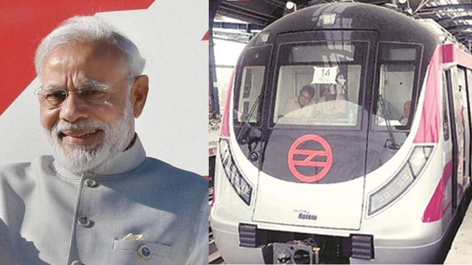 Delhi Metro's Magenta Line an example of modernising urban transport, says Modi