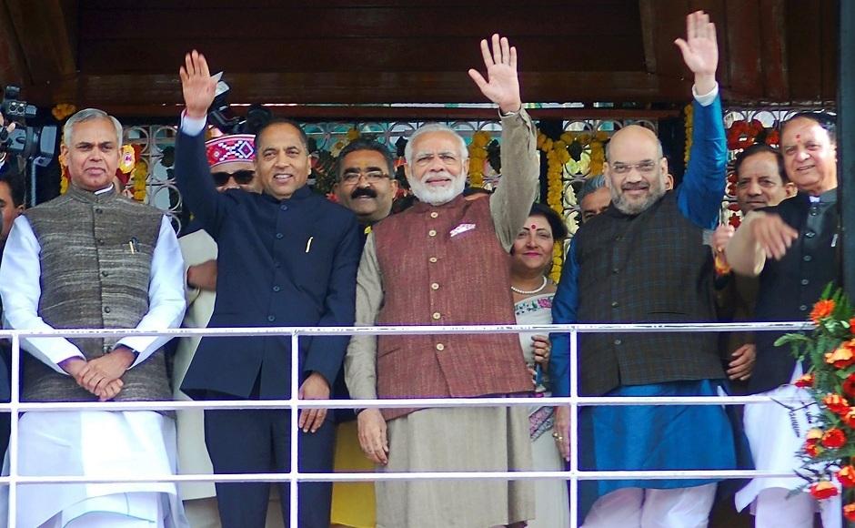 Thakur takes oath as Himachal CM
