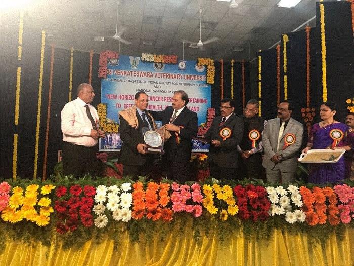 City's Dr Chandrapuriya bags Lifetime Achievement Award