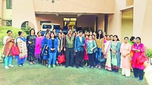 Ladies wing of VIA organises industrial tour