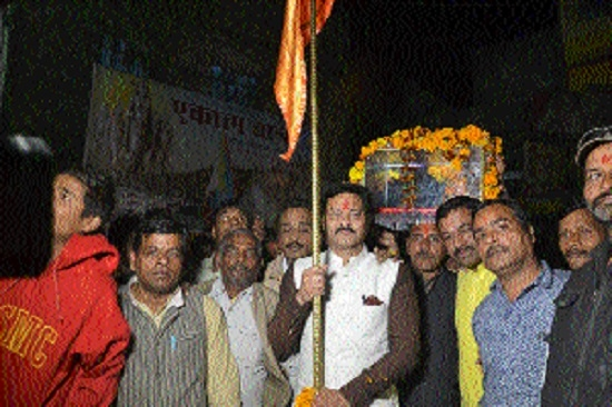 Ekatma Yatra starts onward journey from Kymore