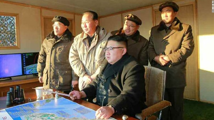 N Korea celebrates latest missile test