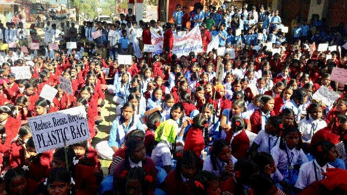 1,200 students take part in Environ-Legal Awareness Rally