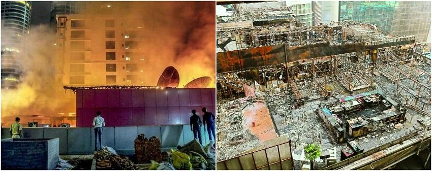 14 killed in Mumbai pub fire