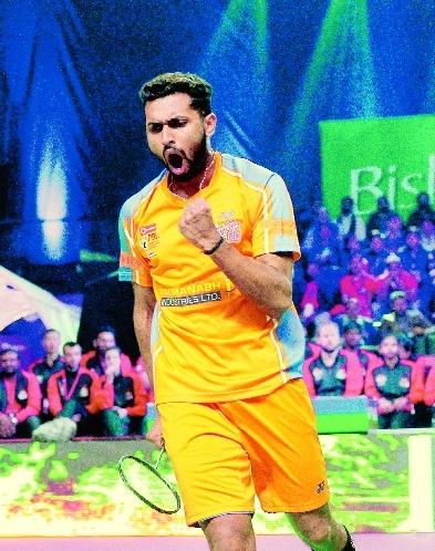 Prannoy extends unbeaten run in PBL