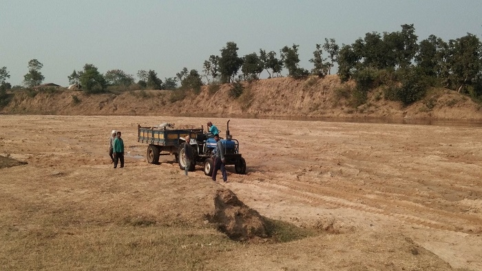 Illegal mining gaining ground in Lalbarra