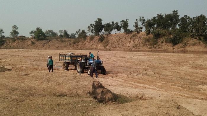 Illegal mining gaining ground in Lalbarra
