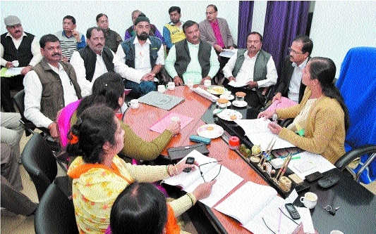 Funds allotted, projects sanctioned in MiC meeting