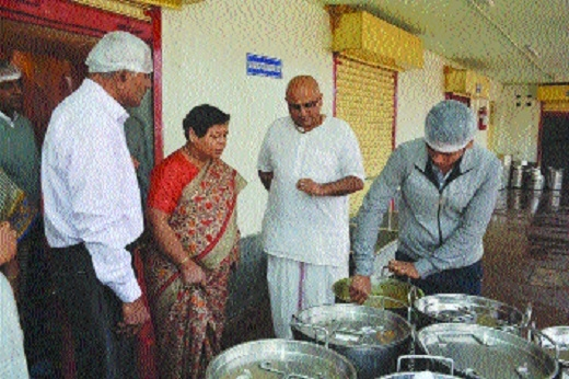 NCST Vice-Chairperson observes welfare activities undertaken by BSP mgmt