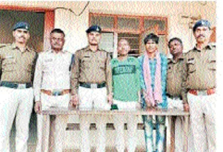 Kherha cops crack two theft cases