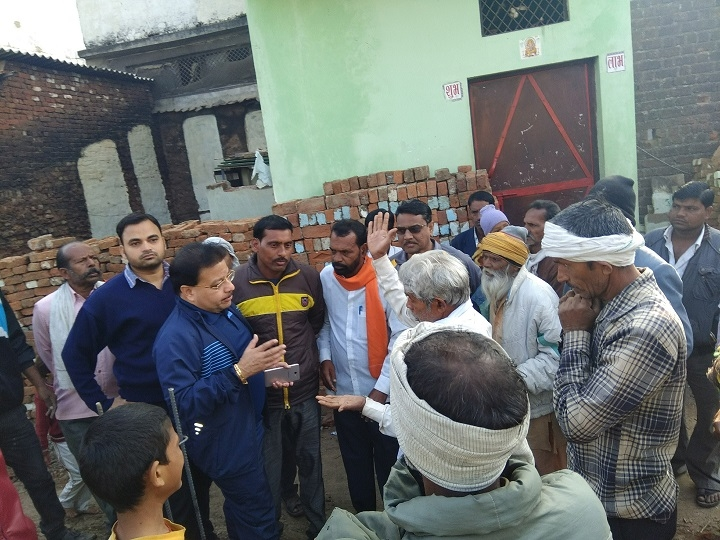 Sagar Mayor conducts surprise inspection of cleanliness work