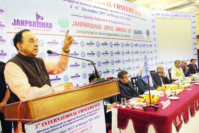 Subramanian Swami stresses revolution in agriculture
