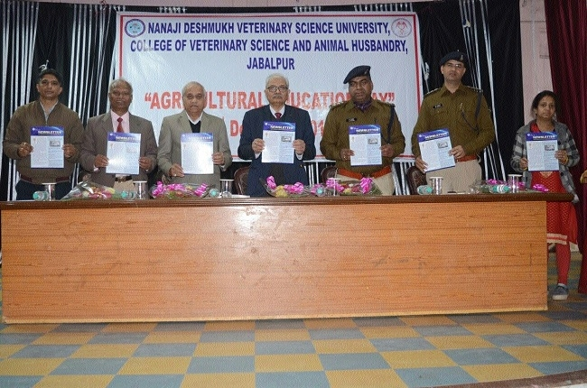 Veterinary University celebrates Agriculture Education Day with zeal