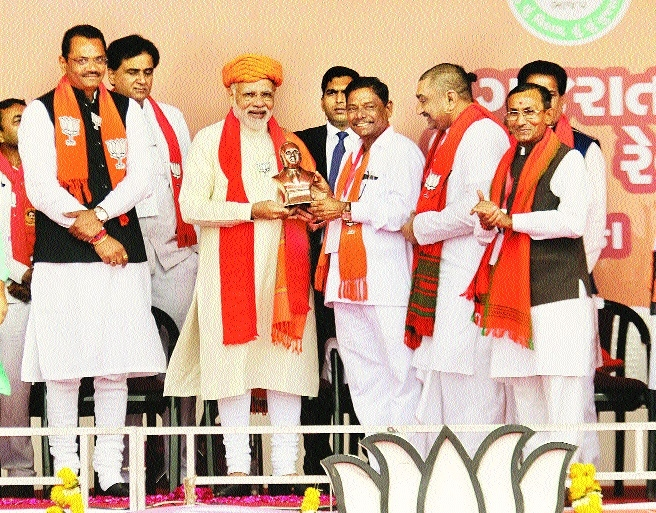 Cong linking Ram temple issue with elections: Modi