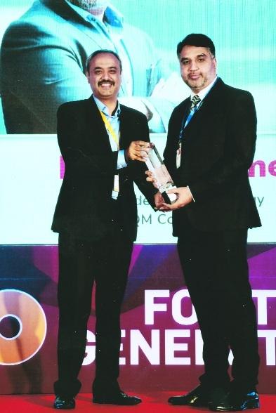 City's Dr Rizwan wins coveted NEXT100 Award