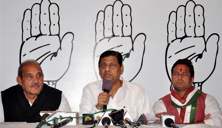 Congress demands CBI probe into scams