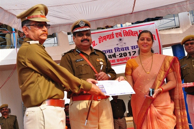 71st All India Home Guards & Civil Security Establishment Day celebrated