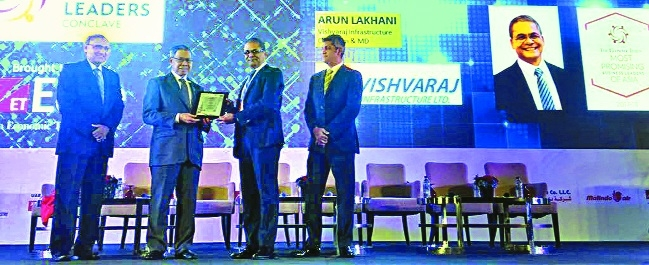 Arun Lakhani voted as 'Most Promising Business Leader of Asia'