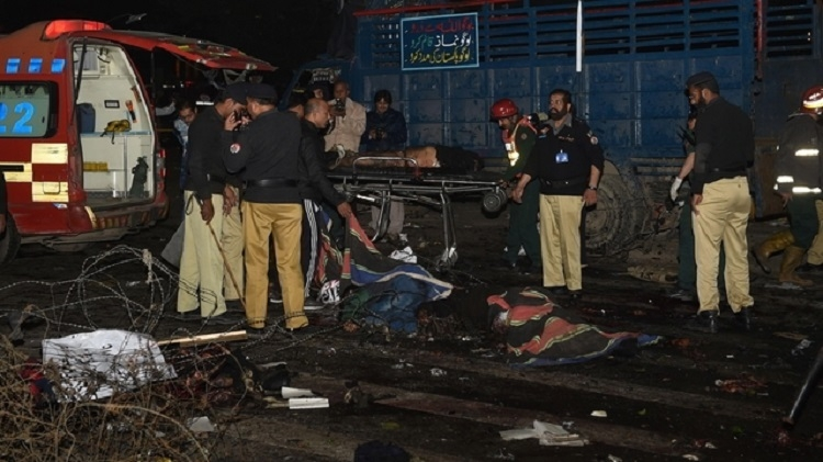 Top cops among 16 killed in Lahore suicide attack