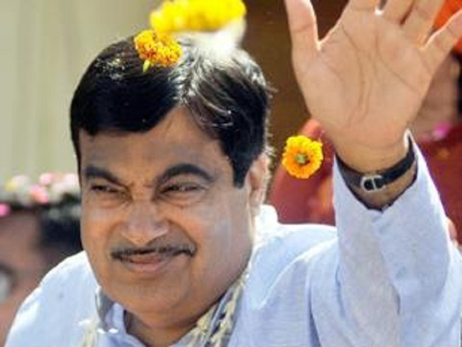 City decked up for Gadkari's felicitation