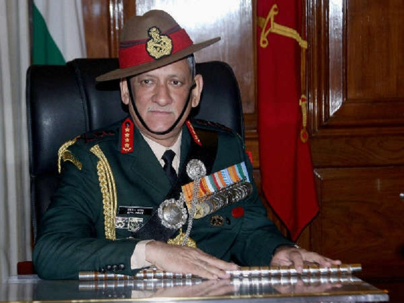 Army Chief visits injured CRPF Commanding Officer
