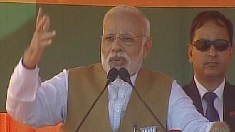 PM slams SP Government for its failure to maintain law and order
