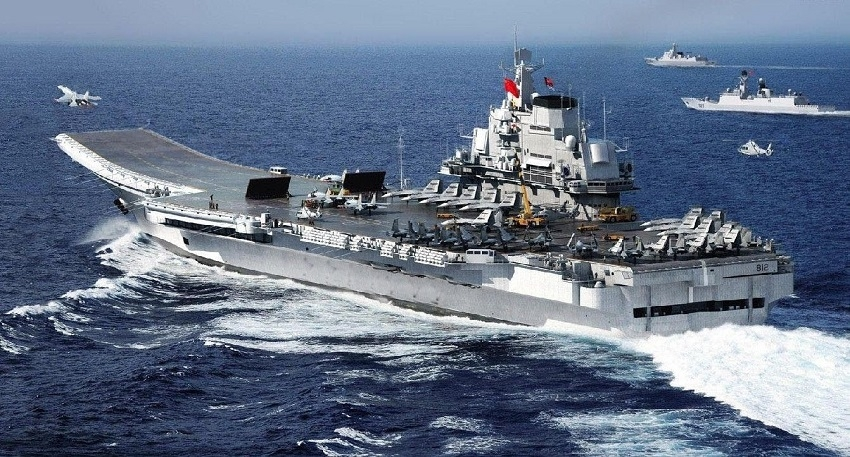 China building 3rd aircraft carrier