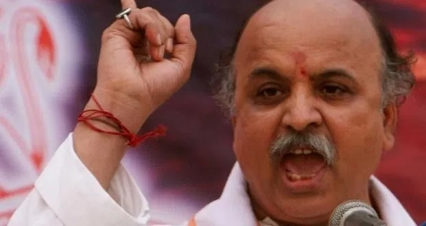 Togadia launches 'ek mutthi anaaj' scheme to feed poor