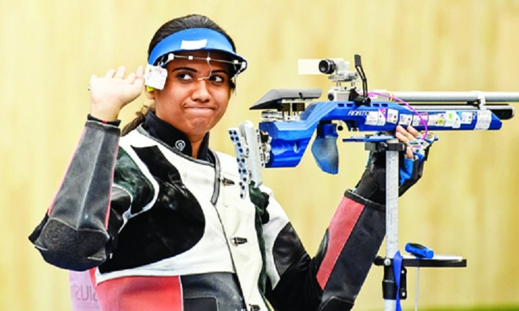 Ghatkar wins bronze, Deepak finishes fifth in air rifle
