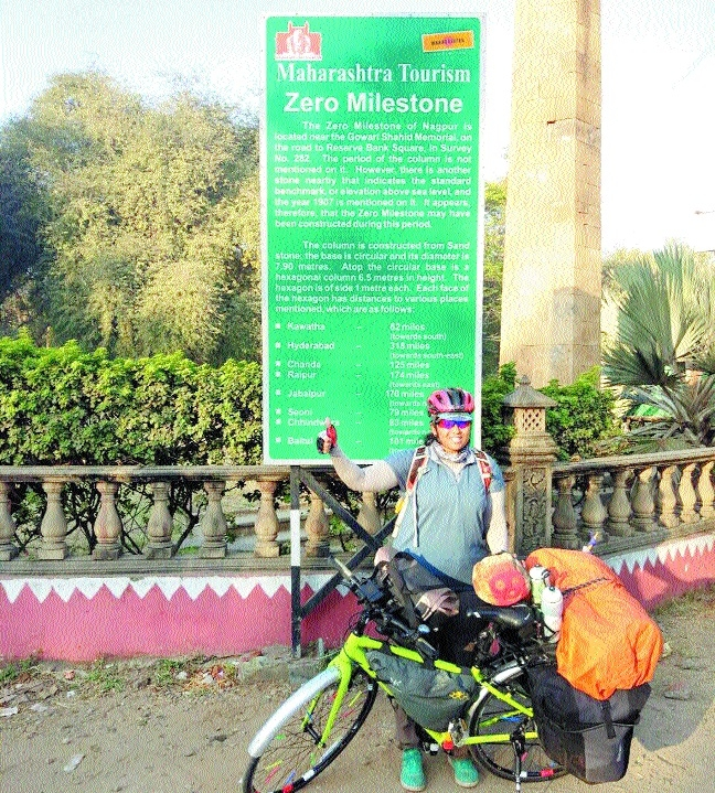 Jyoti Rongala embarks alone on cycle tour of India