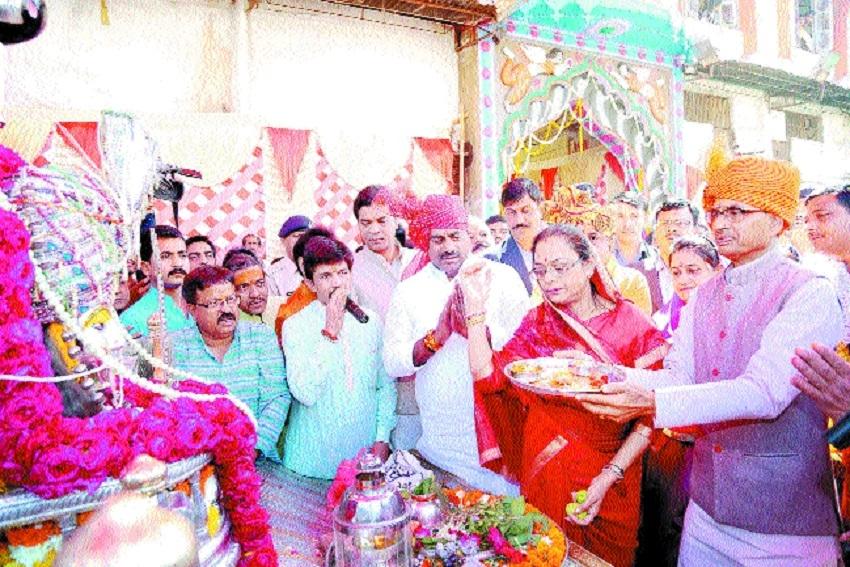 CM prays for people's welfare on Mahashivratri