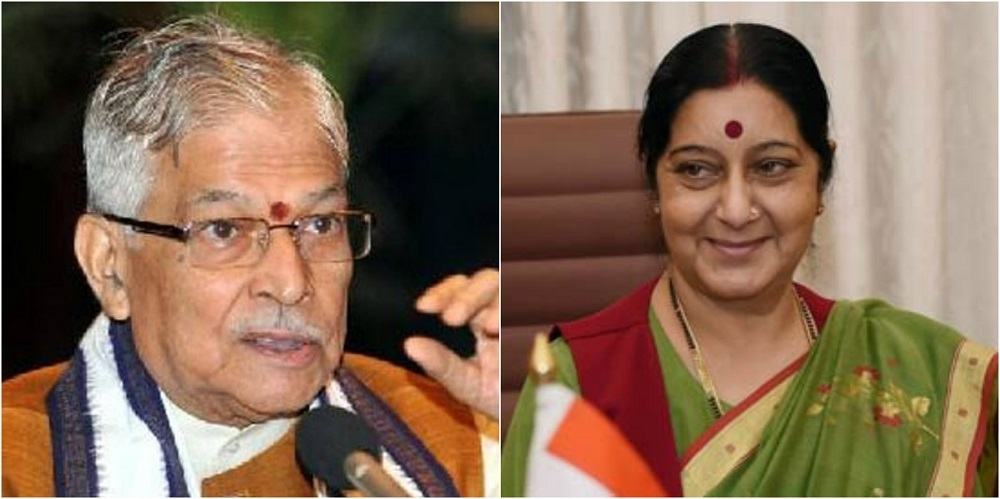 Dr Joshi, Sushma ahead in race for top post as Pranab's tenure ends in July