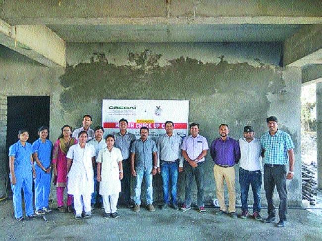 CREDAI Nagpur Metro holds free mega health camp