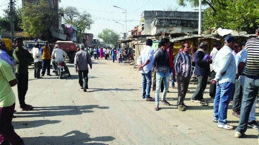 Encroachments in Devendranagar