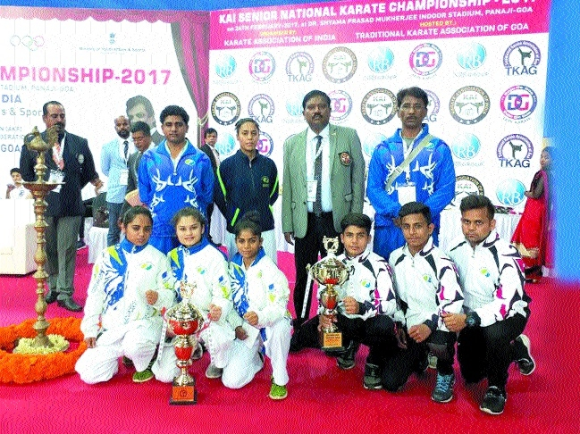 MP Karate Academy lifts championship title