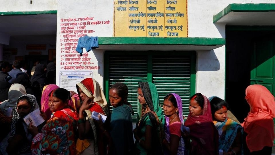 57.36 pc turnout in phase-V of UP polls