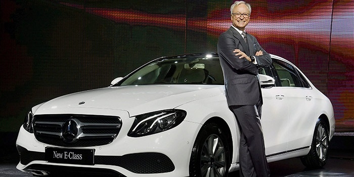 Merc launches long wheelbase E-Class priced at Rs 69.47 lakh