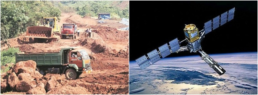 Satellites being used to check illegal mining: Govt