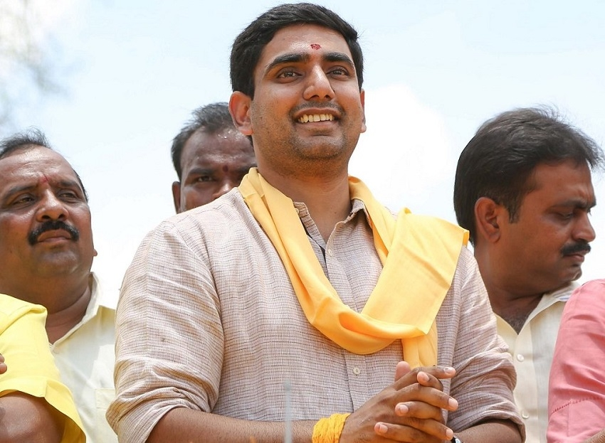 Chandrababu's son declares assets worth over Rs 330 cr