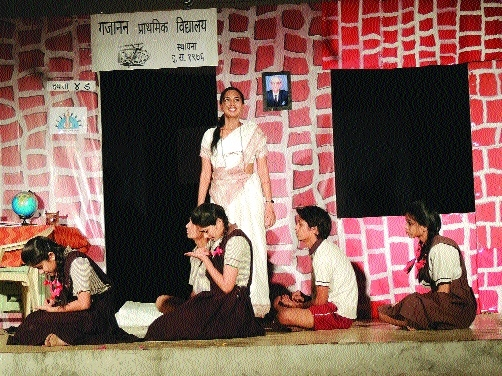 Play 'Kahi Khadu Che Tukde' reflects damaging effect of politics, neglect on rural students