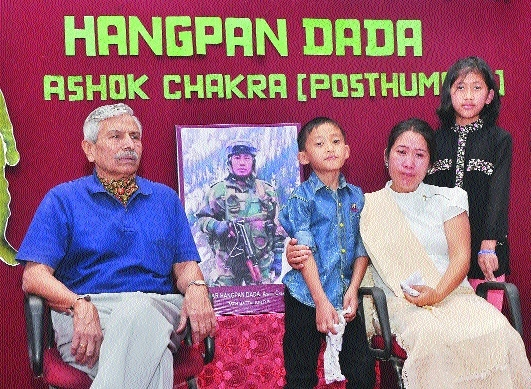 Veer Patni of winner of Ashok Chakra late Hangpan Dada to be feted today