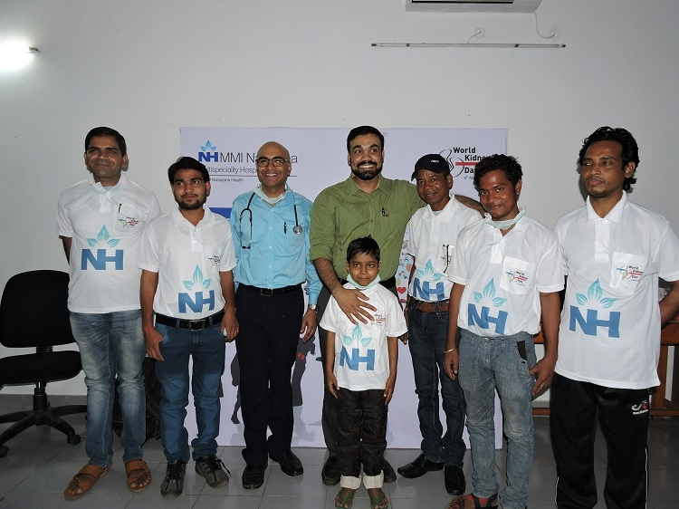 Multiple events mark World Kidney Day at MMI Narayana Multispecialty Hospital