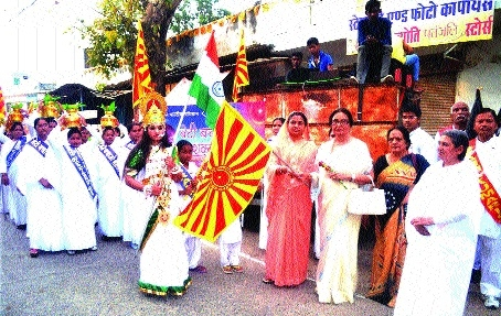 Brahmakumaris take out procession on 'Beti Bachao Sashakt Banao'