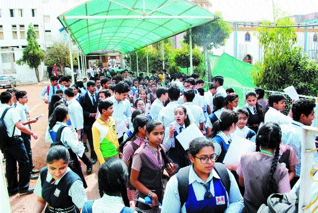 Over 70,000 students appear in first paper of CBSE class X, XII exam