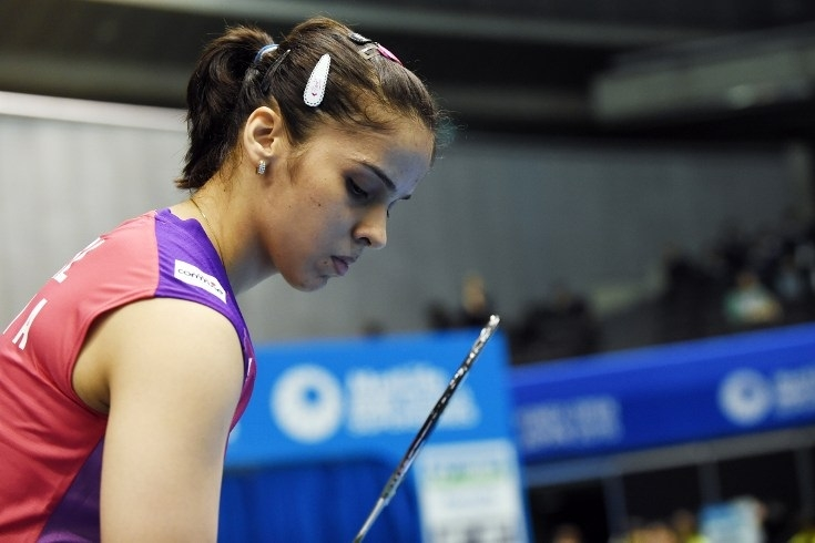Saina's gallant fight ends in agony