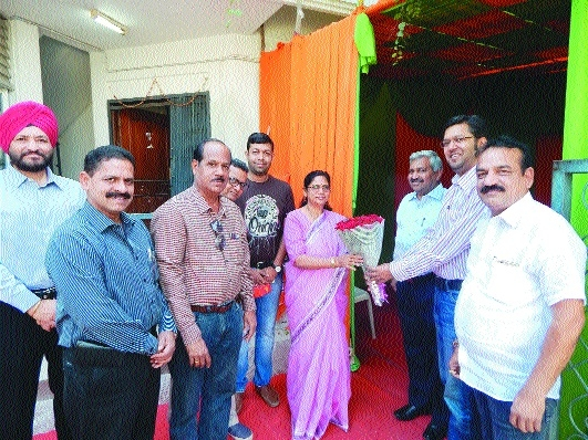 CREDAI Nagpur Metro fetes city Mayor Nanda Jichkar